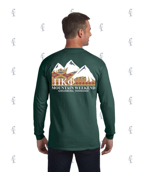 Pi Kapp Mountain Weekend Long Sleeve