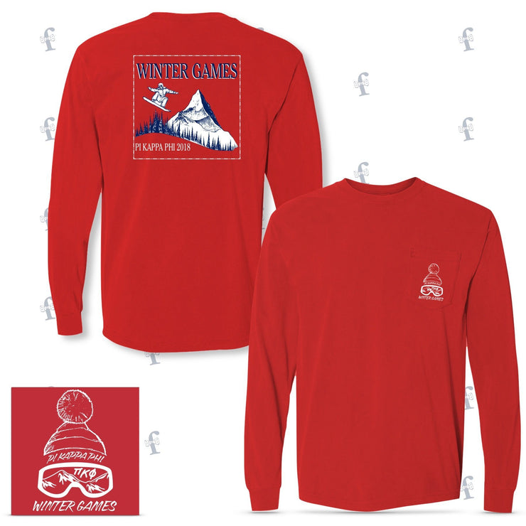 Pi Kappa Phi OSU Winter Games Tees