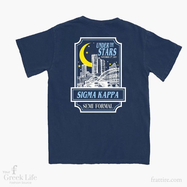 Sigma Kappa FAU Semi Formal Tees