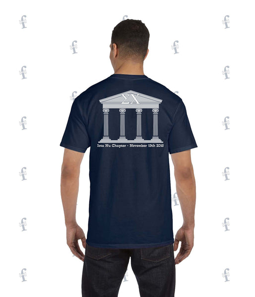 Sigma Chi Toga Party Pocket Tee
