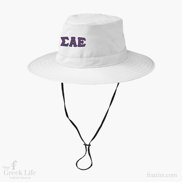 Sigma Alpha Epsilon WIT Embroidered Bucket Hats