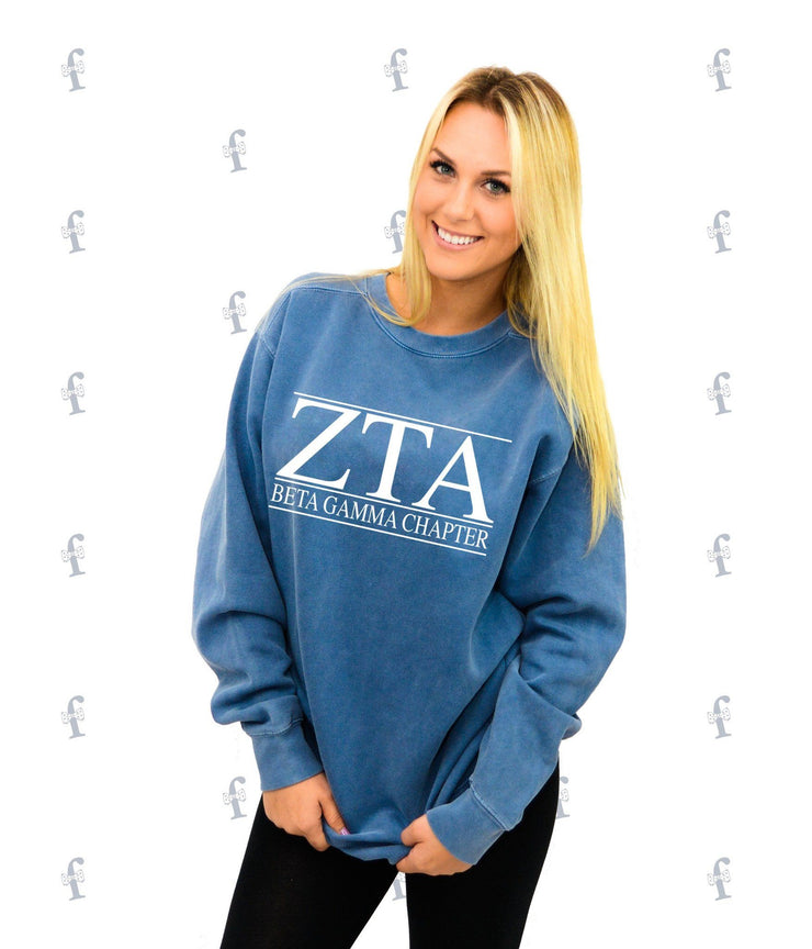 Zeta Tau Alpha Comfy Sweater