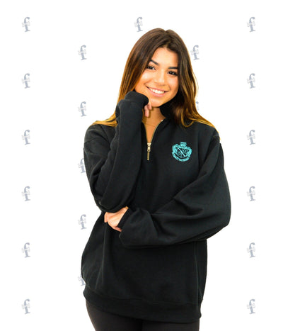 Zeta Embroidered Sweatshirt