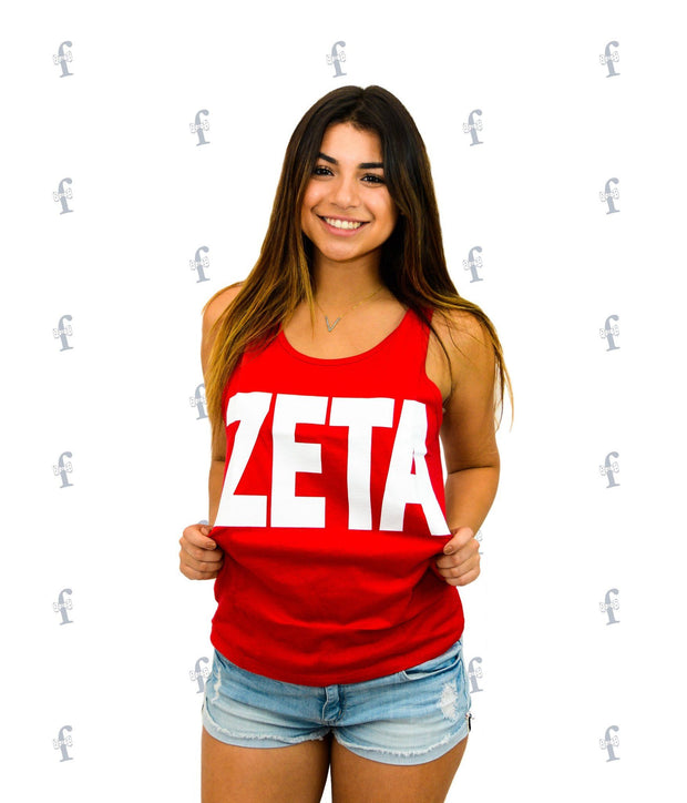 ZTA Get Crowned Red Tank