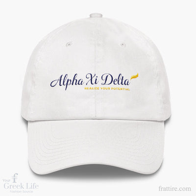 AXΔ Logo Dad hat