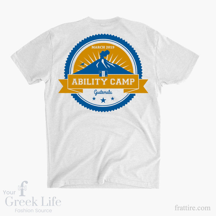 Ability Camp Guatemala 2019 Tees