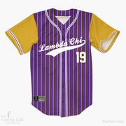 Custom Greek Baseball Jersey | Style 36