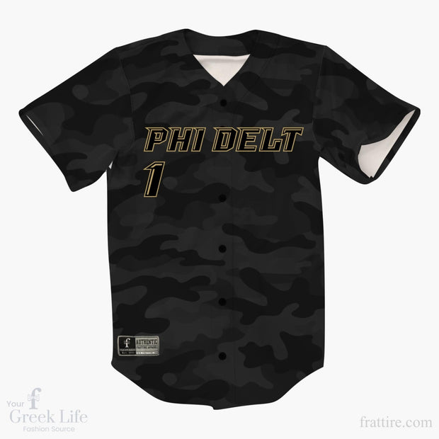 Custom Greek Baseball Jersey | Style 44