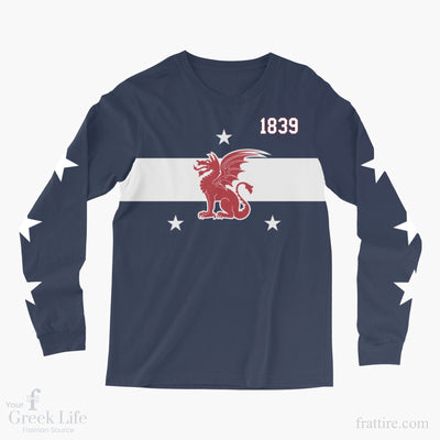 Beta Theta Pi Rochester Long Sleeve Sublimated Tee