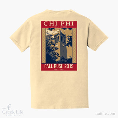 Chi Phi ISU 2019 Fall Rush Shirts