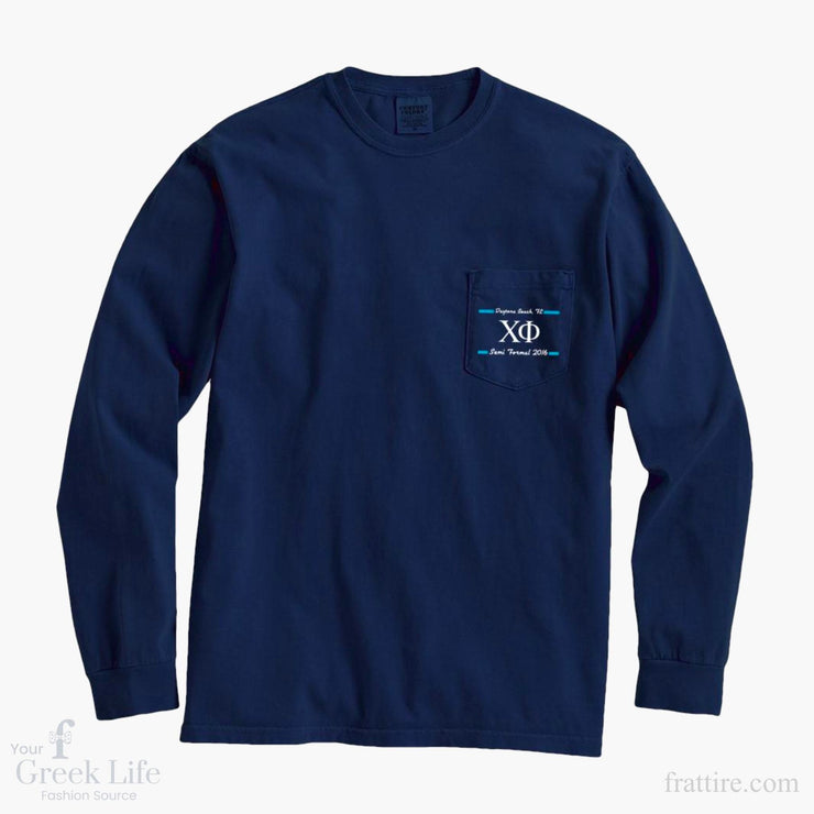 Chi Phi Semi Formal 2016 Long Sleeve