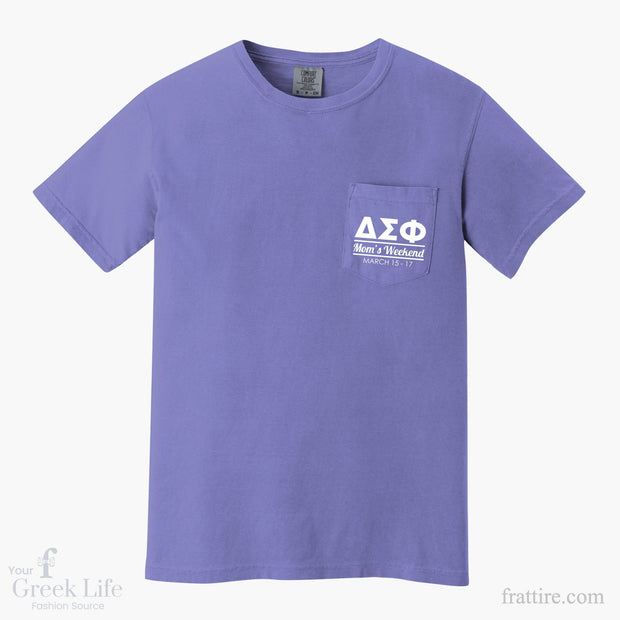 Delta Sigma Phi Mom's Weekend Tee