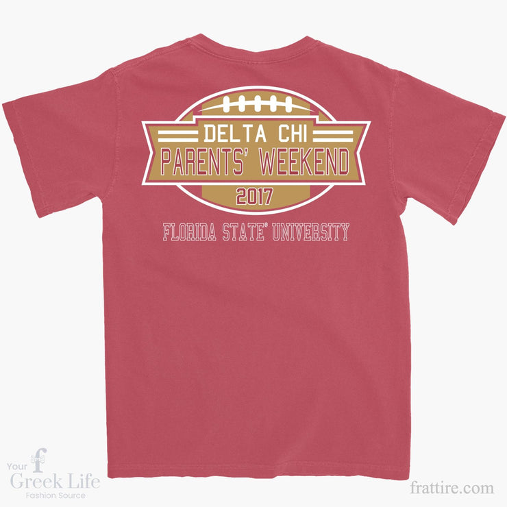 Delta Chi FSU® Parents' Weekend Tee