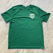 Kappa Delta green beckham athletic shirt