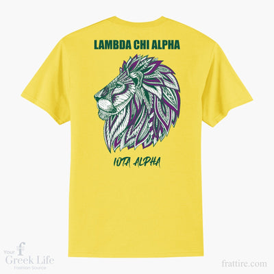 Lambda Chi Alpha BSU Lion Design