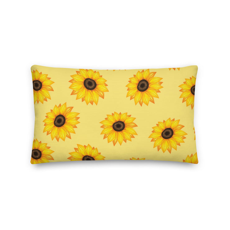 Phi Sigma Sigma Sunflower Premium Pillow