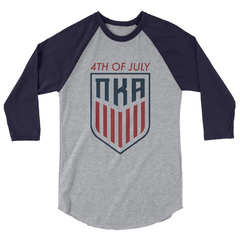 ΠΚΑ USA 3/4 sleeve raglan shirt