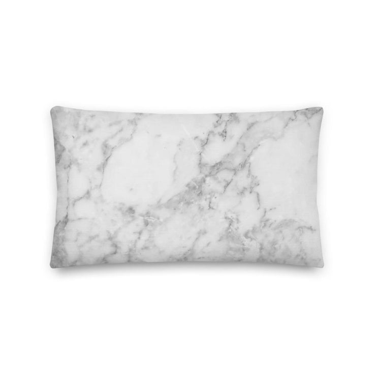 Alpha Chi Omega Marble Premium Pillow