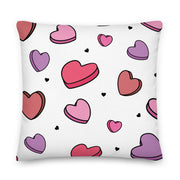 Phi Sigma Sigma Candy Hearts Premium Pillow