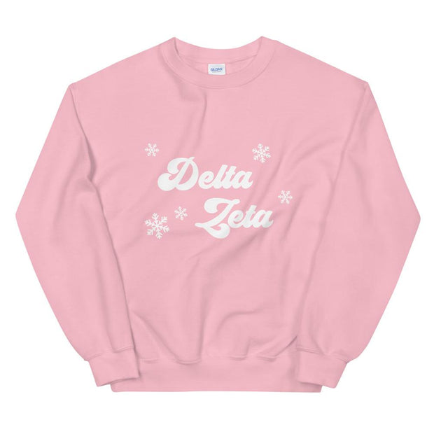 Delta Zeta Winter Sweatshirt