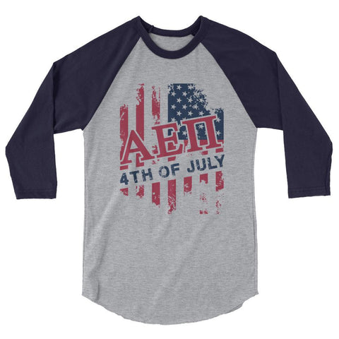 ΑΕΠ USA 3/4 sleeve raglan shirt