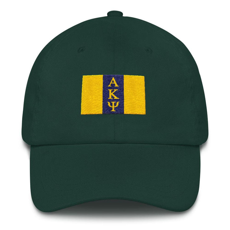 AKPsi Flag Dad Cap