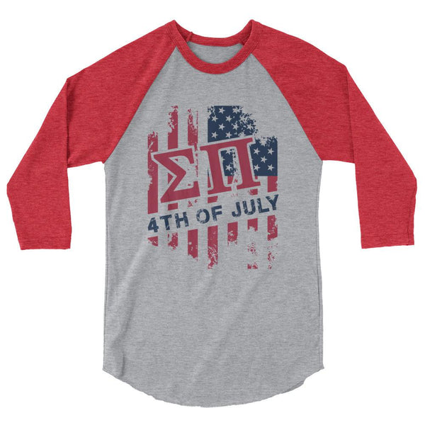 ΣΠ USA 3/4 sleeve raglan shirt
