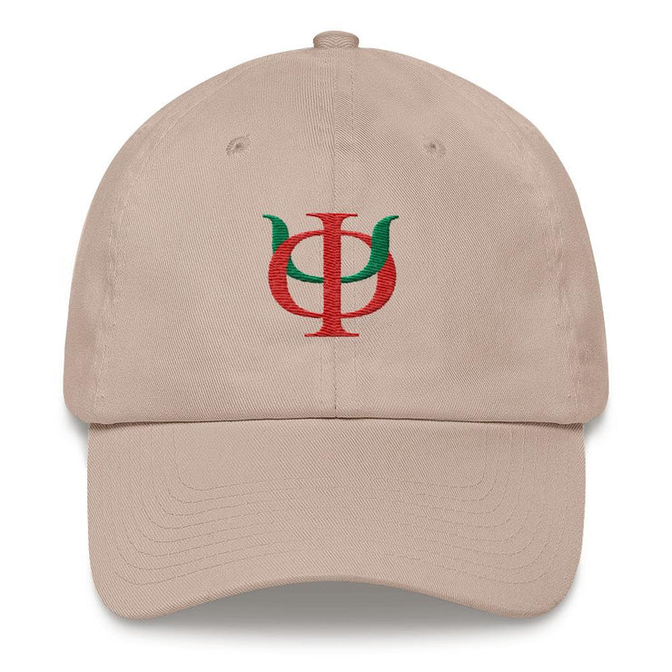 ΦΨ Interlock Letters Dad hat
