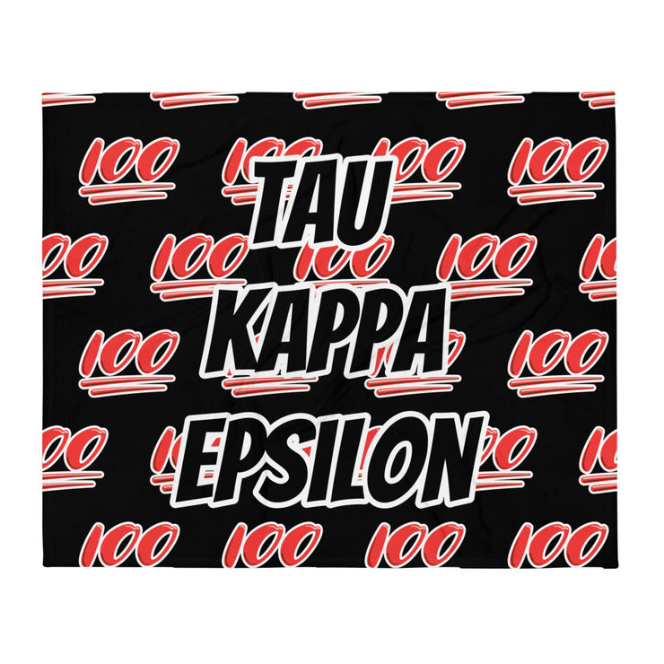 Tau Kappa Epsilon 100 Throw Blanket