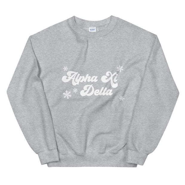 Alpha Xi Delta Winter Sweatshirt
