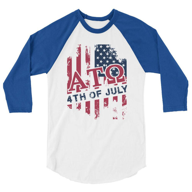 ΑΤΩ USA 3/4 sleeve raglan shirt