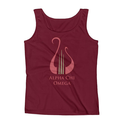AXΩ Lyre Ladies' Tank
