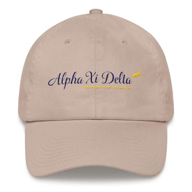 AΞΔ Logo Dad hat