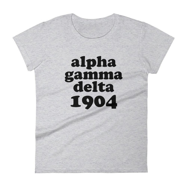 ΑΓΔ Est. 1904 Women's short sleeve t-shirt