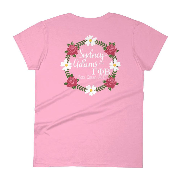 ΠΚΦ Kappa Nu Rose Queen Ladies Tee