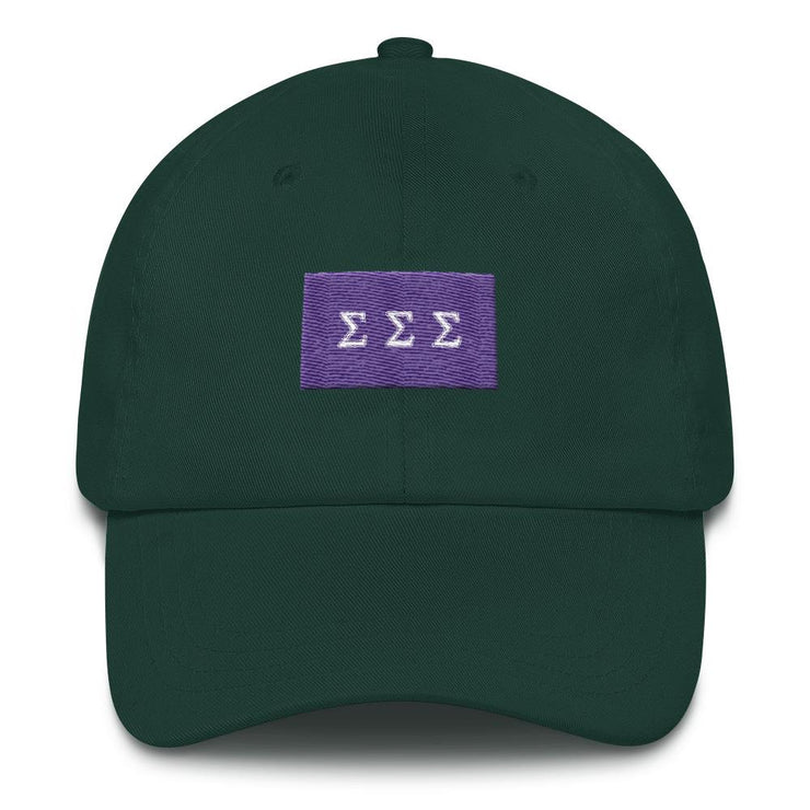 ΣΣΣ Flag Dad hat