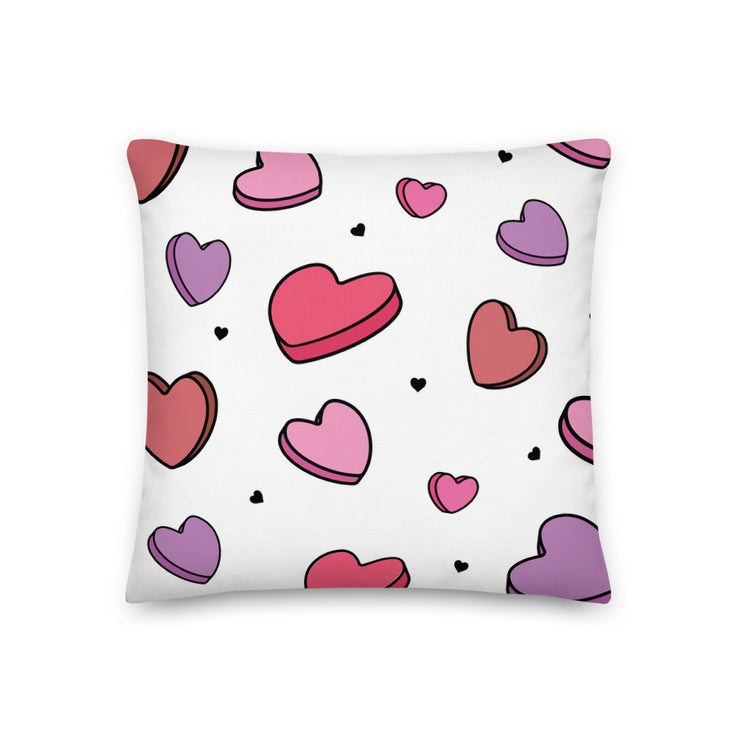 Gamma Phi Beta Candy Hearts Premium Pillow