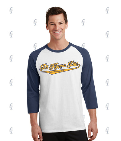 Pi Kapp Dad Weekend Raglan Tee