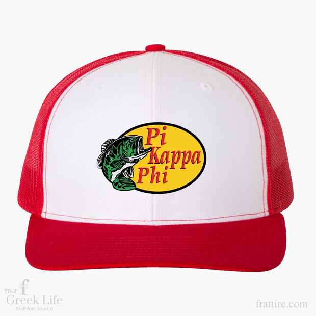 Pi Kappa Phi BSU Embroidered Trucker Hat