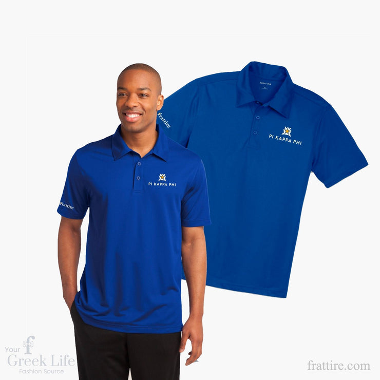 Pi Kappa Phi Embroidered Polo