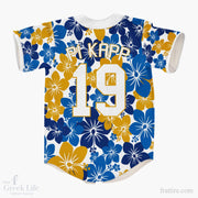 Pi Kappa Phi Hawaiian Baseball Jerseys