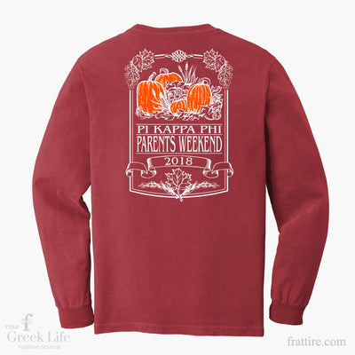 Pi Kappa Phi - Parent's Weekend Long Sleeve Pocket Tee
