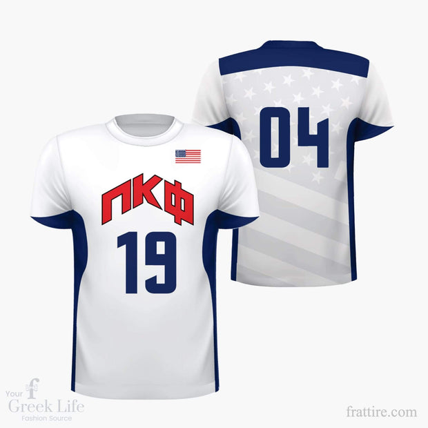 Pi Kappa Phi USA Sublimated Jersey