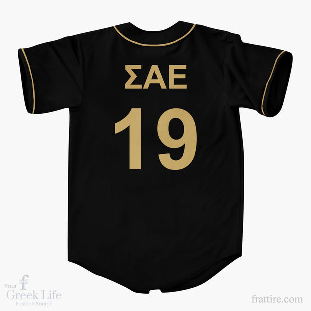 Sigma Alpha Epsilon Baseball Jerseys