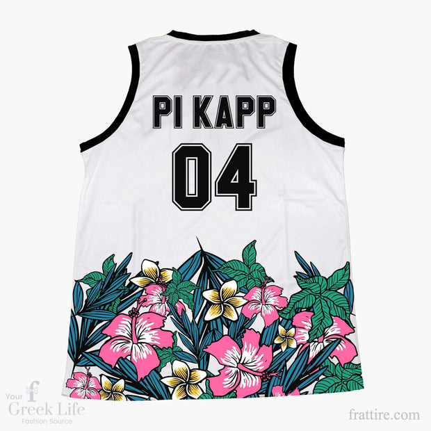 Pi Kapp Tropical Basketball Jersey