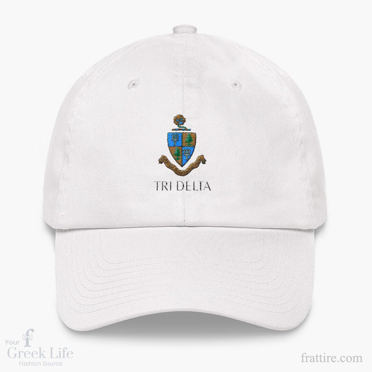 ΔΔΔ Coat of Arms Dad hat