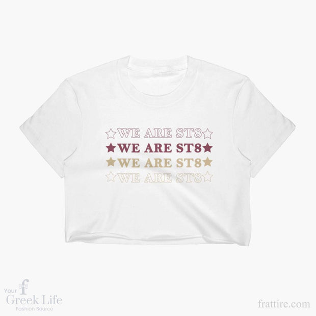 We are St8 Crop tops