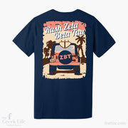 Zeta Beta Tau CSULB Fall Rush Shirts