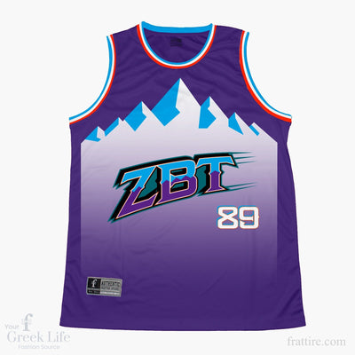 Zeta Beta Tau FIU Basketball Jersey