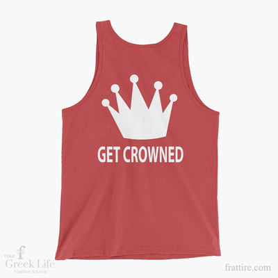 Zeta Tau Alpha Get Crowned Tank Top